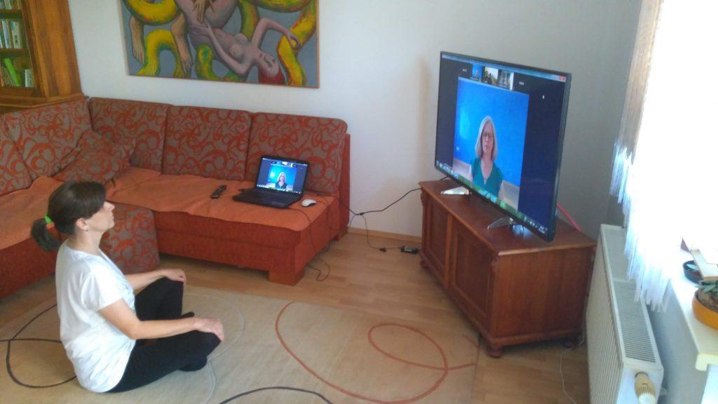 Livestram auf TV-Gerät