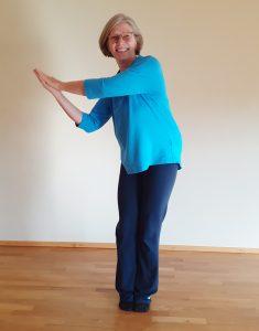 Qigong im Yogastudio Wiesloch mit Andrea
