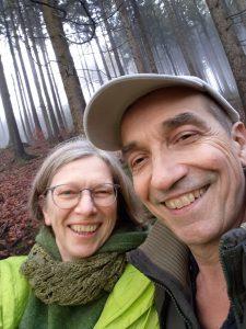 Jahresrückblick 2020: Ingo und Andrea im Odenwald